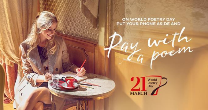 Julius Meinl, Pay with a poem