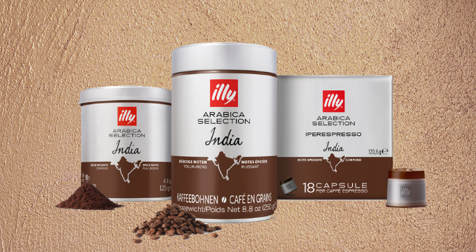 illy Arabica Selection India